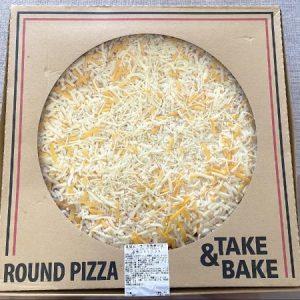 丸型ピザ5色チーズ開封前
